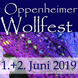 Back form the Oppenheim Yarnfestival 2019